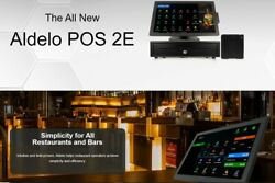 Aldelo Pos 2e Software Restaurant Pizza Bakery Pos 2 Stations One Time Fee