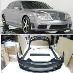 For Bentley Continental Flying Spur Body Kit 2005 - 2008 Walt Style