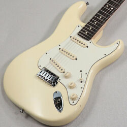 Used Fender Usa Jeff Beck Stratocaster Wh Sn Us11292889 Electric Guitar 2011