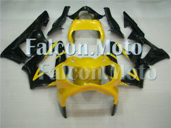 Yellow Black Plastic Injection Fairing Fit For 2000-2001 Honda Cbr929rr Abs Obo