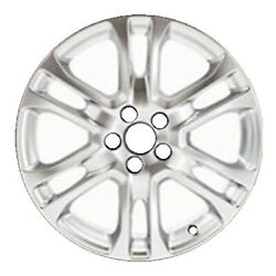 Oem Reconditioned 18x7.5 Alloy Wheel Silver Full Face Painted 560-70396