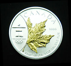 2008 Special 5 With Gold Plating For The 2010 Winter Olympics In Vancouver