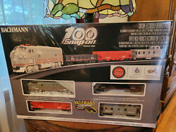 Snap-on 100 Year Electric Train Set Bachmann Limited E-z Track Complete Sealed