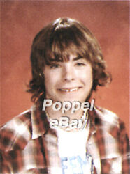 Zac Efron High School Yearbook  High School Musical Free Shipping