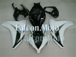 Fairing White Black Abs Plastic Fit For 08-11 Cbr 1000rr 2008-2011 Injection Afx