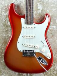 Used 2012 Fender Usa American Deluxe Stratocaster N3 Electric Guitar With Case