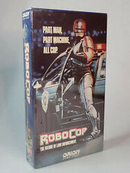 Vhs Robocop 1987 Orion First Press Sealed Holy Grail