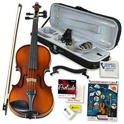 Bunnel Pupil Violin Outfit Full Size Clearance By - Carrying Case And 4/4