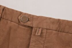 Kiton Nwt Casual Pants / Chinos In Brown Corduroy Cotton Blend Size 40 Us 995