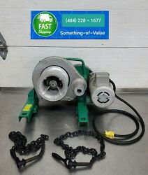 Greenlee 640 4000lb Wire Cable Tugger Puller Chugger W/ Chains Used