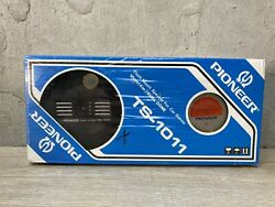 Pioneer Ts-1011 Dual Cone Flush Mount Car Stereo Speakers 1985 New In Sealed Box