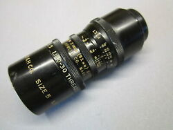 Black War Paint Military Bell And Howell 51mm C-mount Lens 16mm Movie Camera