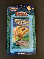 Pokemon Ex Power Keepers Blister Pack Booster Raichu Rare