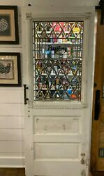 White Pantry Door With Dental Molding
