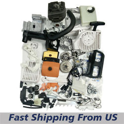 Chainsaw Complete Repair Kit Engine Motor Cylinder Piston For Stihl Ms200t 020t
