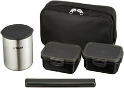 Thermos Lunch Box Tiger Vacuum Stainless Steel Bento Bottle Lwy-r030-k F/s Track