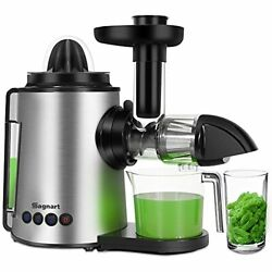 Juicer Machines 2 In 1 Slow Masticating Citrus Juicers Fruits And Vegetables Col