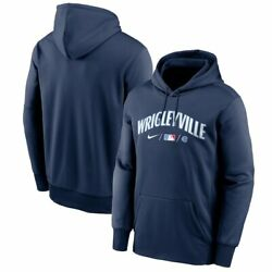 Nip Nwt Authentic Mlb Nike City Connect Chicago Cubs Mens Hoodie Sz L Rare