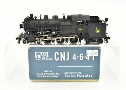 Ho Brass Pfm United Cnj Central Railroad Of New Jersey 4-6-4t H-1s Painted