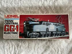 Lionel 0 And 27 Guage Penn Central Gg-1 Electric Locomotive W/twin Pullmor Motor