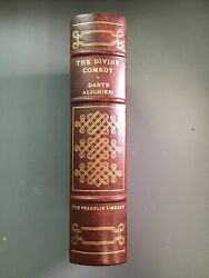 Lot The 100 Greatest Book The Divine Comedy Gilt Leather Franklin Library Books