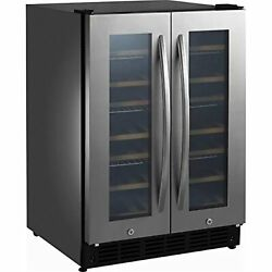 Insignia Ns-bc2zss8 42 Bottle Or 114 Can Built-in Dual Zone Wine And Beverage