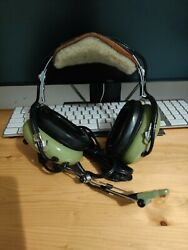 David Clark Aviation Pilot Headset With Soft Top By Oregon Aero Tested