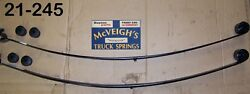 New Rear Mono- Leaf Springs For 1967-1969 Chevy Camaro Part 21-245