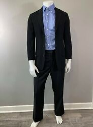Banana Republic Mens 3-button Down Fitted Suit Blazer Size 38r Made In Italy
