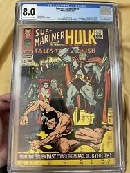Tales To Astonish 90 Cgc 8.0 1st App Of The Abomination Shang-chi She-hulk Mcu