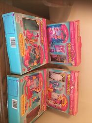 1996 Cap Toys Melanie Melanies Mall Huge Lot Stores 12 Figures Clothing More