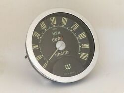 Speedometer 100mph Nos Smiths Fits Wolseley 6/90 W/ Overdrive Sn5462/02-1000