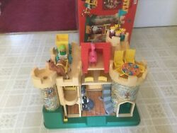 Vintage Fisher Price Castle 993 Complete Set With Box