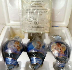 Starlight Blessings 5th Issue Bradford Editions Heirloom Porcelain Ornaments 3