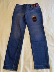 Nwt NOBO No Boundaries Juniors High Rise Sculpting Skinny Jeans Med Blue Size 11 $17.99