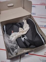 Rossignol Mens X-5 X-country Ski Boots 13 Black/anthracite Mint/un-used W/box
