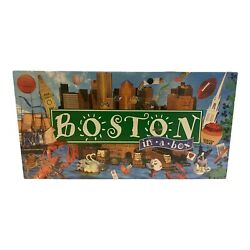 BOSTON In A Box Board Game Sealed Made in USA Authentic Landmark Edition