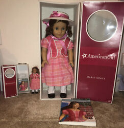 Retired American Girl Doll Marie-grace Historical Collection And Org Accessories