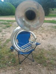 Sousaphone Used Holton Silver
