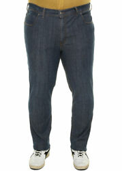 Blue Jeans Plus Size Stretch Trousers For Men Over. Big And Tall. Big Size
