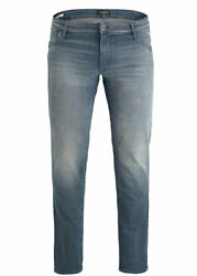 Jack And Jones Jeans Men's Plus Size Stretch Trousers Over. Big And Tall. Big Size