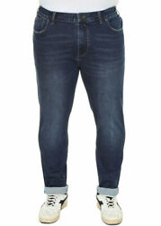Jeans For Men Plus Size Stretch Classic Cotton Trousers High Waist
