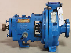 Goulds Stx 3196 1x1.5-8 Centrifugal Pump 40 Gpm @ 220and039 Tdh