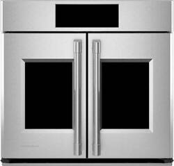 Monogram Ztsx1fpsnss 30 Built-in Single Electric Convection Wall Oven -