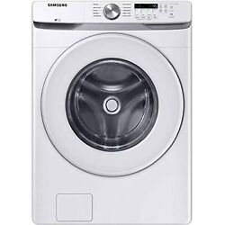 Samsung Wf45t6000aw 4.5 Cu. Ft. White Front Load Washer