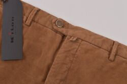 Kiton Nwt Casual Pants / Chinos In Brown Corduroy Cotton Blend Size 36 995