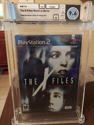 X-files Resist Or Serve Sony Playstation 2 2004 Wata 9.6 A Seal