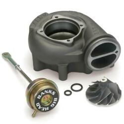 Banks Turbo Upgrade Kit Big-head Comp Wheel Quick Turbo For 99.5-03 Ford 7.3l