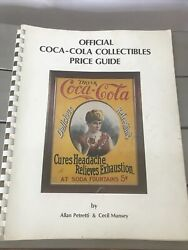 Vintage Official Coca-cola Collectibles Price Guide By Pitretti And Munsey 1982