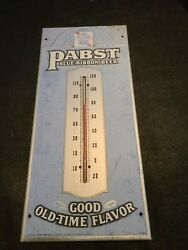 Vtg Pabst Blue Ribbon Beer Thermometer